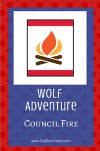 Wolf Council Fire