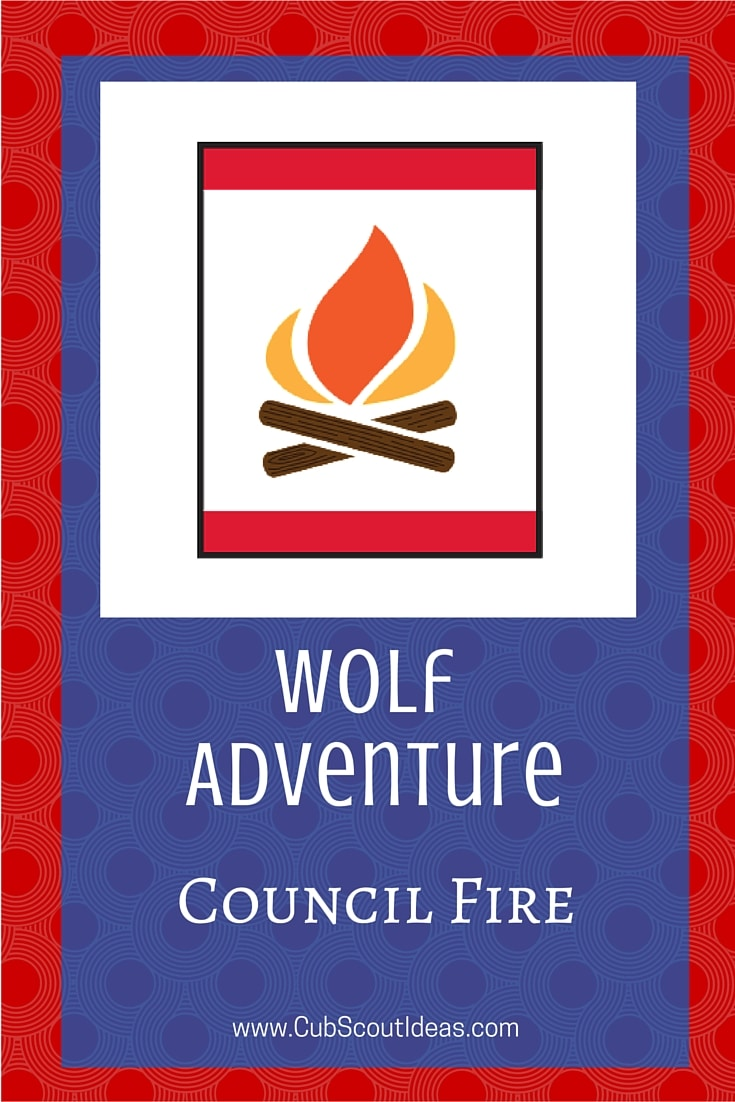 Cub Scout Wolf Council Fire