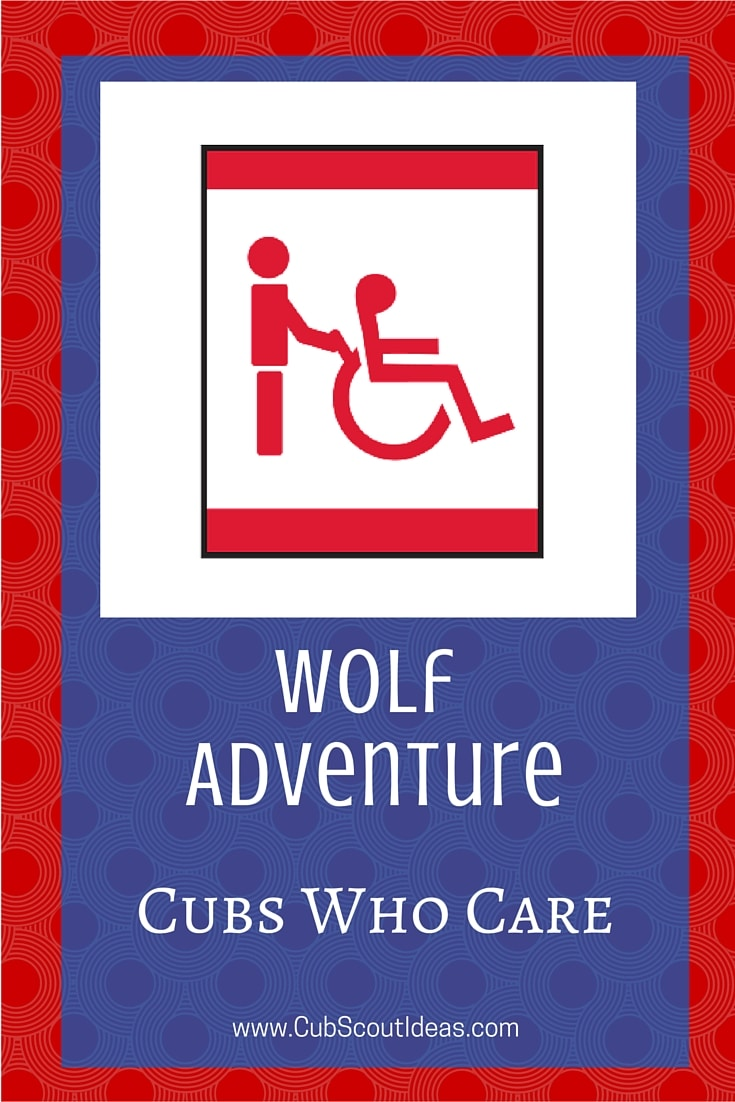 Cub Scout Wolf Cubs Who Care