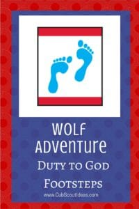 Wolf Duty to God Footsteps