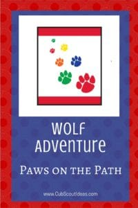 Wolf Paws on the Path