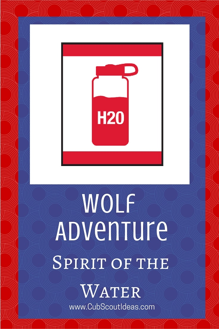 Cub Scout Wolf Spirit of Water
