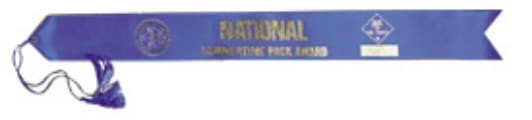 summertime pack award ribbon