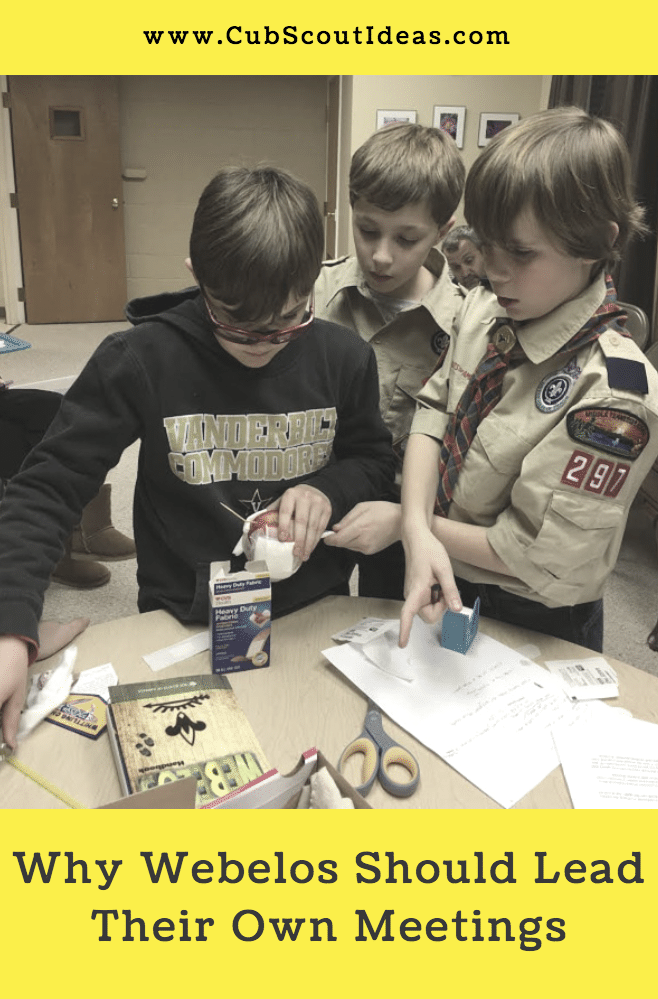 Webelos Lead Meeting