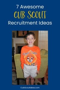 Cub Scout recruitment ideas