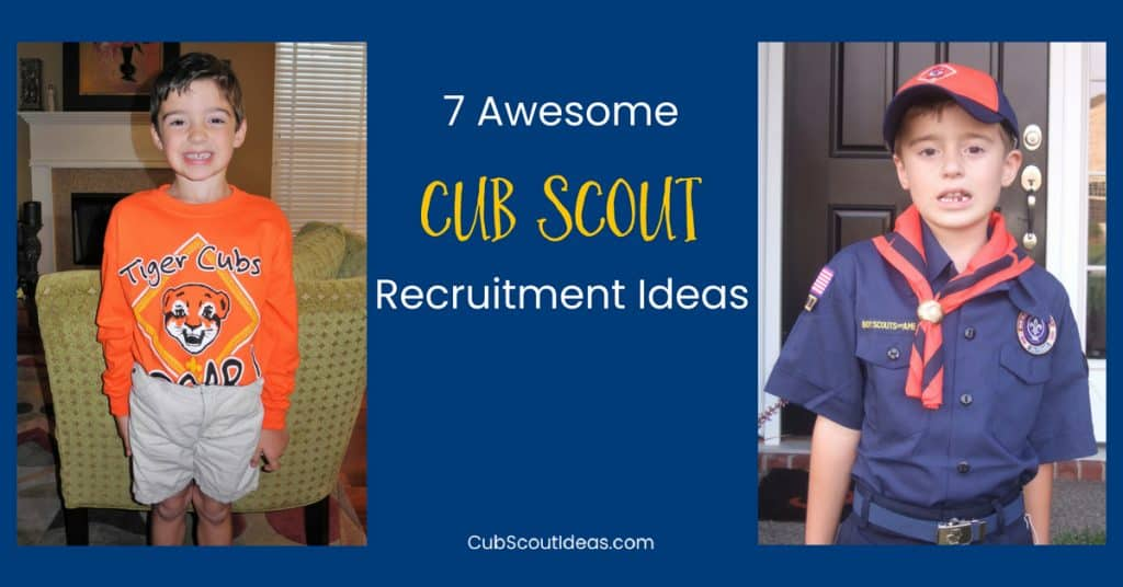 Cub Scout recruitment ideas f