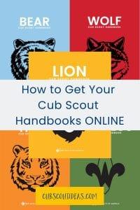 electronic cub scout handbooks