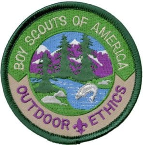 outdoor ethics awards