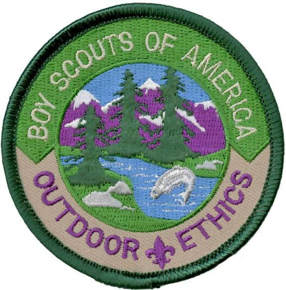 cub scout outdoor ethics award