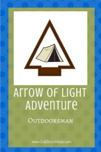 Arrow of Light Outdoorsman