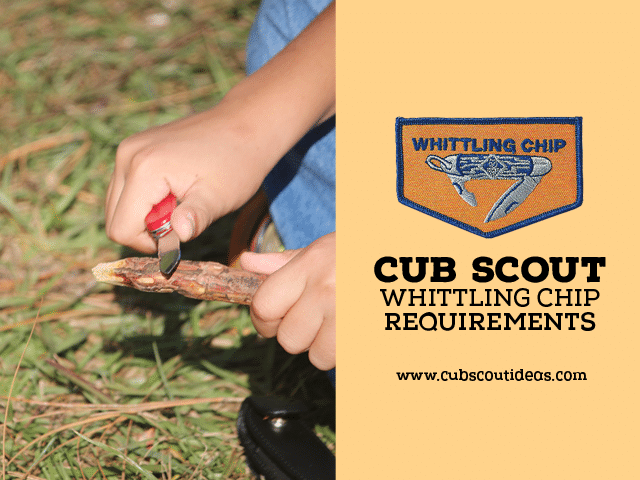 cub scout whittling chip requirements 2