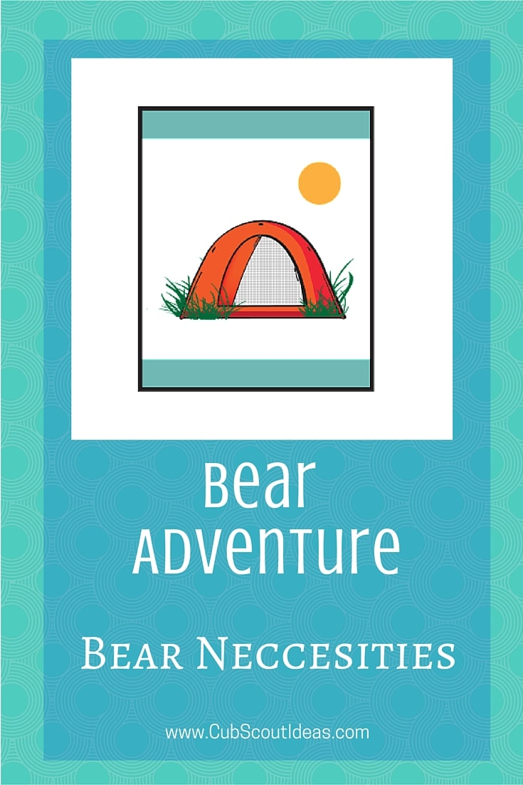 Bear Cub Scout Bear Necessities Adventure