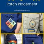 Cub Scout Patch Placement p