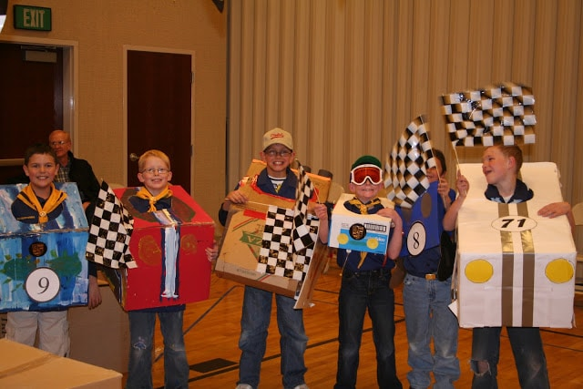 Pinewood Derby Car Costume