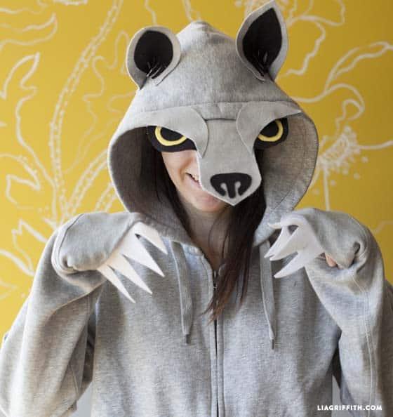 wolf costume diy