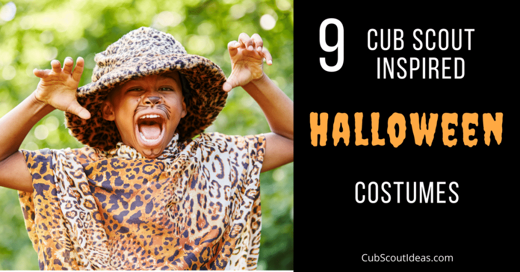 halloween costumes inspired by cub scouts