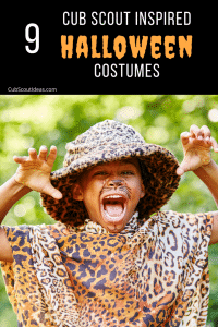 cub scout inspired halloween costumes