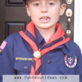 where to put cub scout patches
