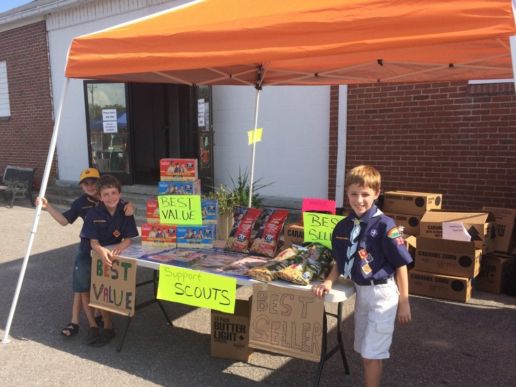 sell cub scout popcorn 2