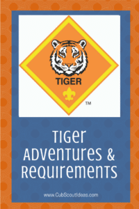 Cub Scout Tiger Requirements