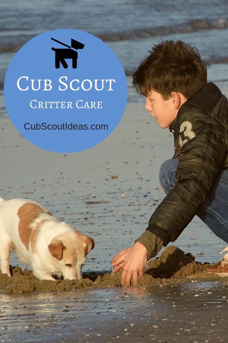 Cub Scout Critter Care
