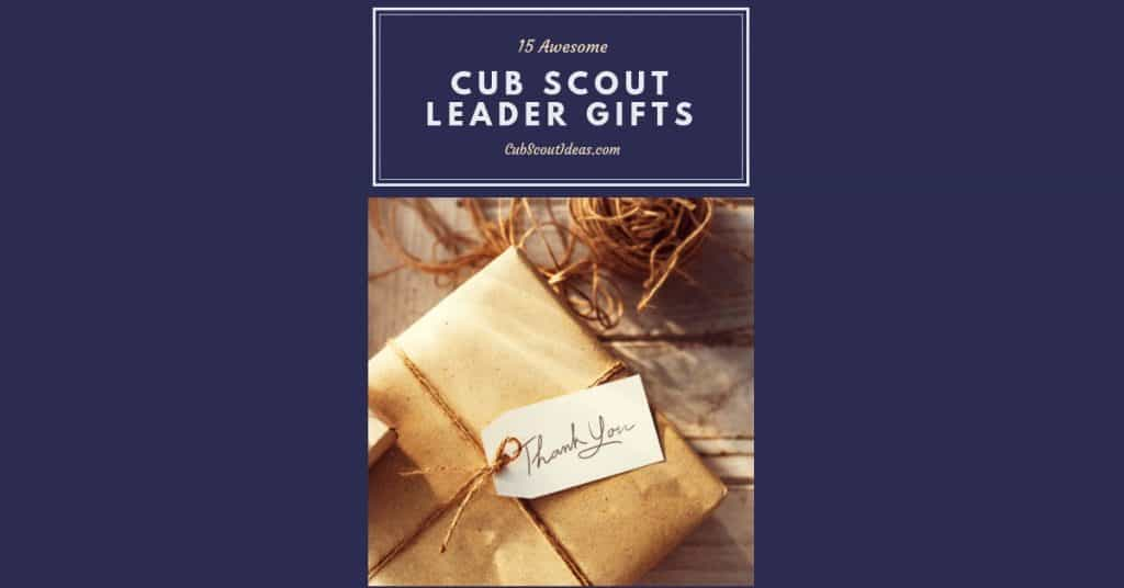 cub scout leader gifts