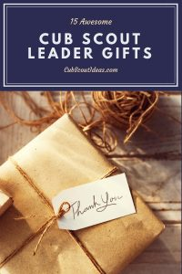gifts for cub scout leaders