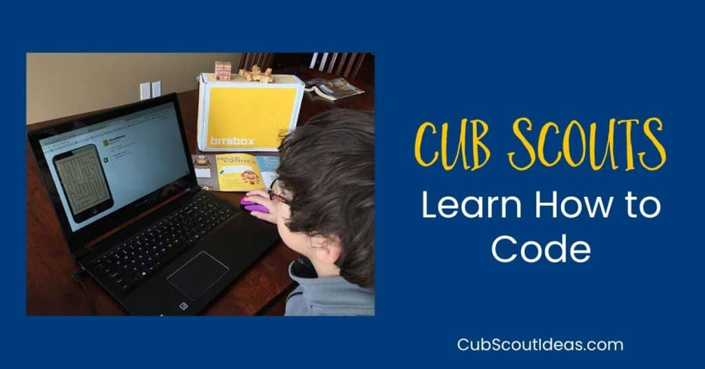 cub scouts learn how to code