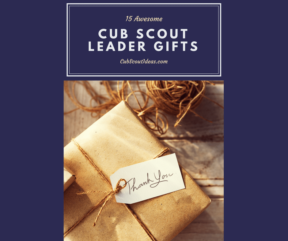 cub scout leader gift