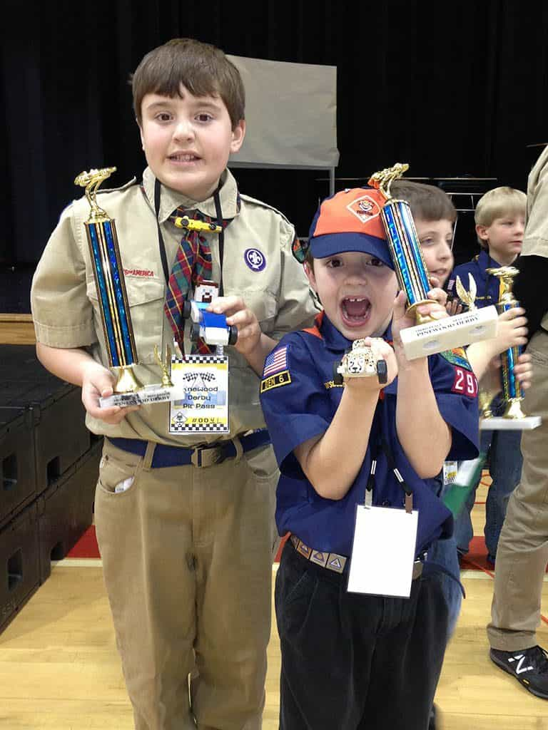 pinewood derby design awards