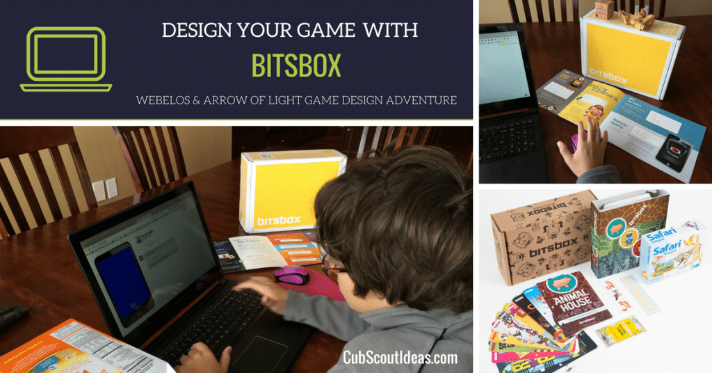 cub scout game design adventure