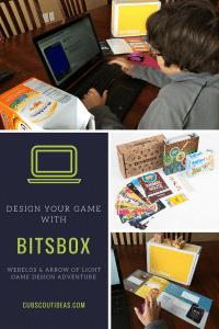webelos game design