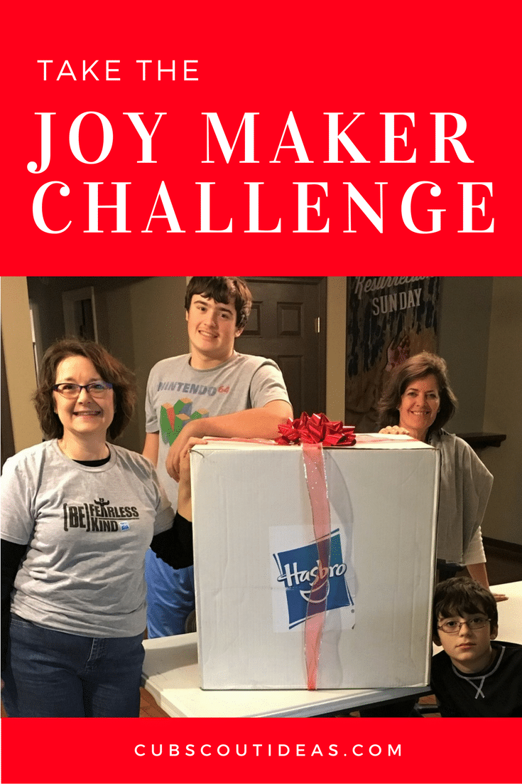 How to Be More Helpful with the Joy Maker Challenge