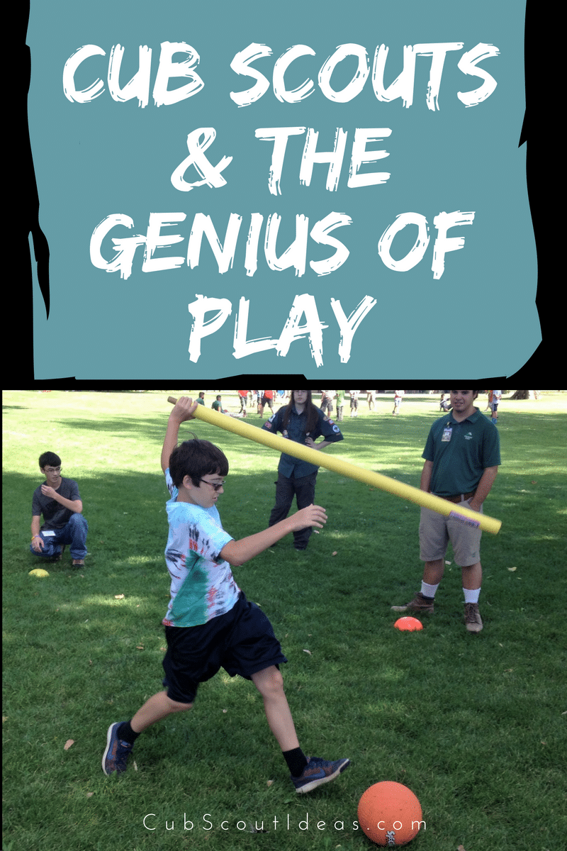 How to Help Cub Scouts with the Genius of Play