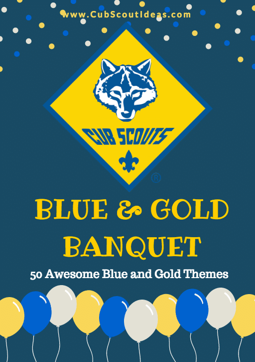 50 blue and gold themes