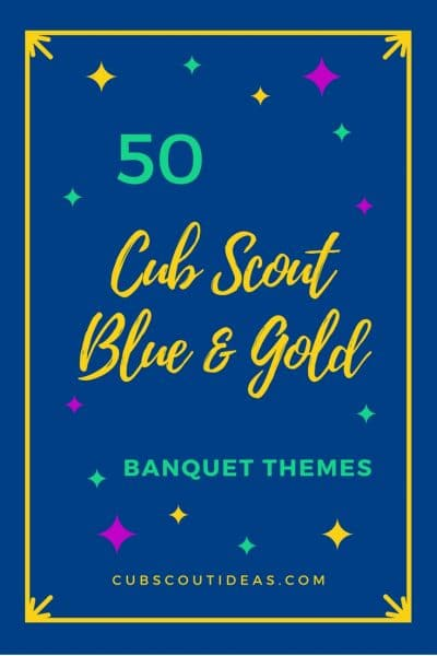 50 of the Most Incredible Blue and Gold Banquet Themes