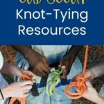 knot tying resources for cub scouts