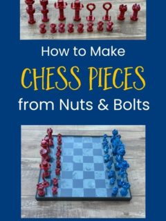 nuts and bolts chess pieces