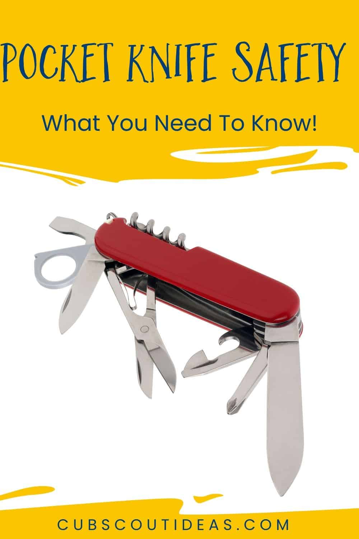 Pocket knife safety