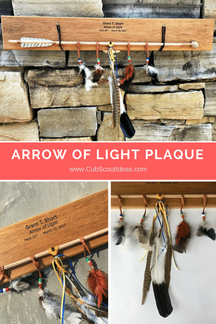 arrow of light plaque