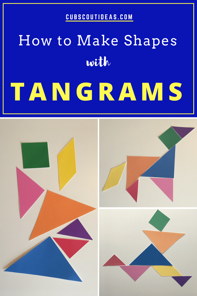 How to Make Shapes with Tangrams