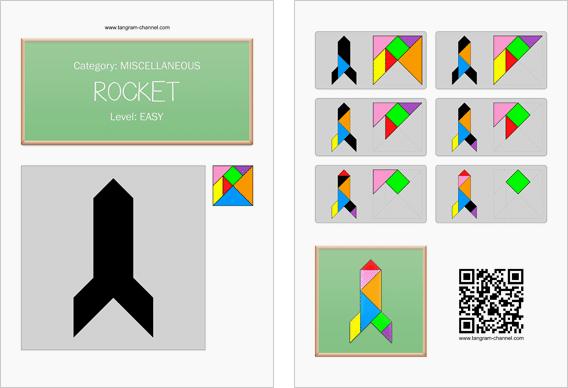 tangram rocket