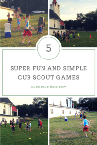 Five Cub Scout Games