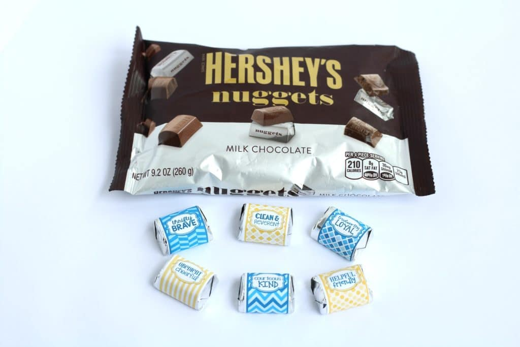 hersheys nuggets wrappers