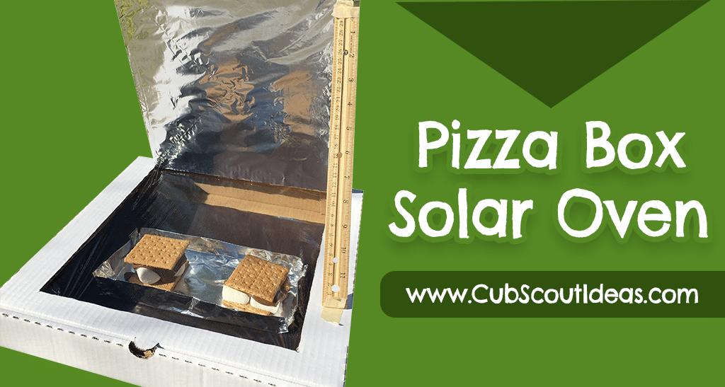 pizza box solar oven