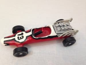 racecar pinewood derby car