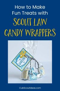 scout law candy wrapper