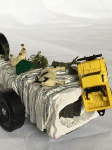 tornado pinewood derby car detail