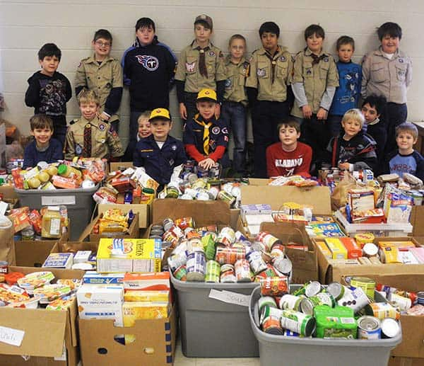 scouting for food cub scouts