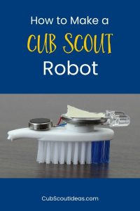 how to make a diy cub scout robot